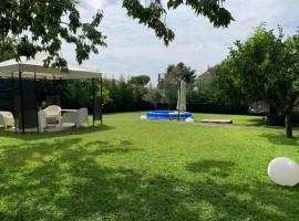 7336 - Mascalucia, villa 150 mq, giardino e garage